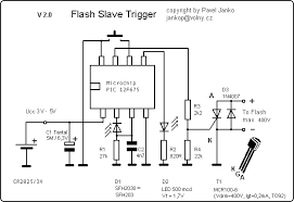 digital slave flash trigger   circuit diagram with pic  f  slave flash trigger circuit diagram   kb