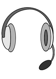 Kleurplaat Microfoon Malvorlage Kopfhrer Mit Mikrofon Ausmalbild
