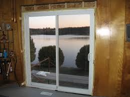 glass doors installation