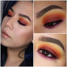 colorful makeup looks with take me back to brazil palette bh cosmetics makeup eyeshadow