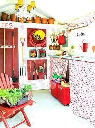 Garden Organization Shed Storage Ideas Practical Home For Organiza . Cute Garden  Sheds ...