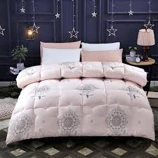 2019 fanghua hotel quilt white goose duck down duvets thickening keep warm winter comforter cotton cover king queen twin full size from natal