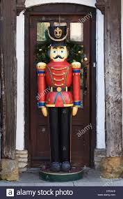 ... Shining Large Toy Soldier Christmas Decoration Stunning Outside The  Shop Stratford Upon Avon ...