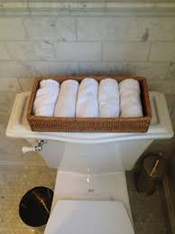 guest bathroom towels: guest bathroom with white hand towels