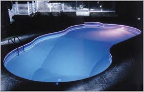 inground pools at night. Solar Pool Lights For Inground Pools » Comfy At Night