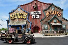 outside of hatfield and mccoy dinner show in pigeon forge