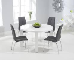elegant round white dining table isuya