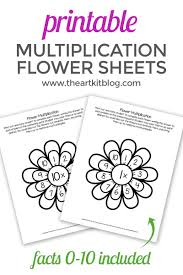 Download 70,738 flower pattern free vectors. Waldorf Flower Multiplication Worksheets For Kids Printable Pack The Art Kit