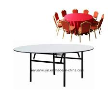 hotel restaurant used folding round banquet table jy t01 pictures photos