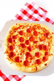 perfect pepperoni pizza slice. Brilliant Slice Homemade Pizza Recipe Ready To Be Sliced Intended Perfect Pepperoni Pizza Slice