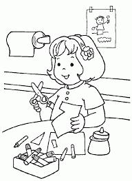 Coloring Worksheets For Kindergarten Many Interesting Cliparts