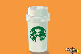 starbucks coffee cup drawing. Perfect Cup How To Draw A Starbucks Cup  Step 11 Inside Coffee Drawing U
