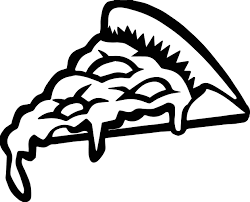 Small Picture Whole Pizza Half Pizza Pizza Slice Dripping Cheese Coloring Page