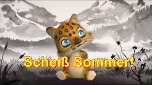 Scheiß Sommer Regen Hitze Unwetter Little Leo Zoobe App