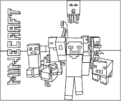 Printable Minecraft Creeper Coloring Pages Creeper Coloring Page