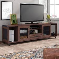 Ebern Designs Nyle Glass 60 Tv Stand Trent Austin Design Neihart Tv Stand For Tvs Up To 78 Inches