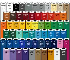 3m Scotchcal Vinyl Color Chart