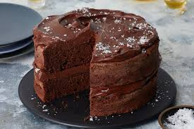 Salted Dark Chocolate Cake With Ganache Frosting Recipe Nyt Cooking