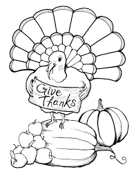 Thanksgiving Turkey Coloring Page Free Printable