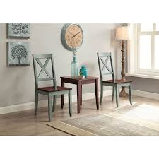 transitional dining chair sch: better homes and gardens maddox crossing dining chair blue set of  walmartcom