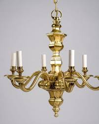 enthralling solid brass chandelier of