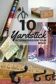 10 DIY Yardstick Recycling Ideas