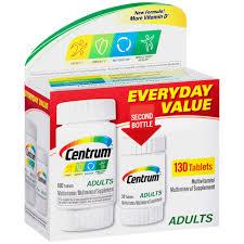 centrum 130 count complete multivitamin multimineral supplement tablet vitamin d3 b vitamins iron antioxidants com