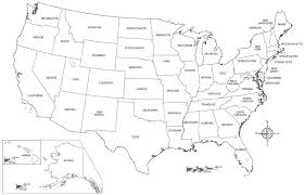 Coloring Pages Of The United States Bokamosoafrica Org