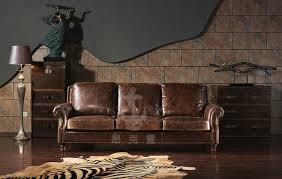 Unique Leather Furniture Dazzling Hot Sale Vintage Unique Leather Sofa  Furniture A110 .