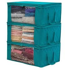 Sorbus Foldable Storage Bag Organizers Large Clear Window Carry Impressive Bedrooms And More