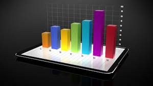 Digital Tablet With 3d Charts Stock Footage Video 100 Royalty Free 13812122 Shutterstock