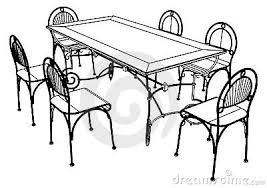 chairs clipart black and white. Delighful Black With Chairs Clipart Black And White