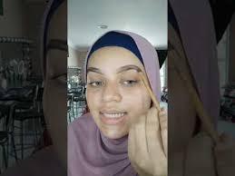 tutorial makeup tunang msia