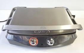 calphalon he600cg removable plate non stick indoor countertop grill panini maker