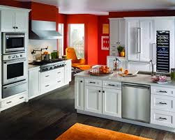 White Kitchen With Red Accents Amazing White And Grey Kitchen Ideas 2016 Kitchen Dickorleanscom