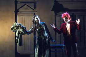 Keith Jameson as Peter Quint, with Lisa Houben as Miss Jessel, in The Turn of the Screw, Opera Royal de Wallonie in Liege, Belgium, April 2007 [Photo ... - Jameson_TurnOfTheScrew