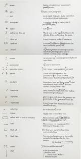 a guide to copyediting marks ny book editors handwritten copyediting marks