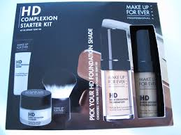 i tested the foundation as part of the hd plexion starter kit now available at sephora make up forever
