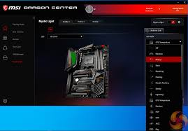 Msi Mystic Light Cpu Temperature Msi Meg X570 Ace Motherboard Review Kitguru Part 4