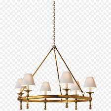 lighting chandelier window blinds shades visual comfort gold shading