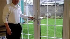 sliding glass window front security bars french door security