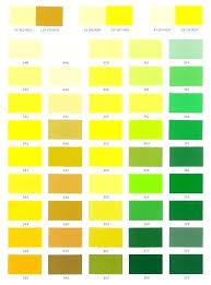 Yellow Car Paint Chart Ppg Paint Colors Startupipsum Co