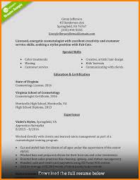 Cosmetologist Resume Fantastic Cosmetologist Resume Frieze Documentation Template 21