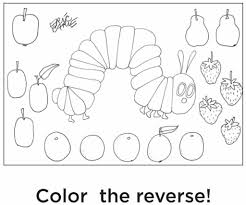 Small Picture Coloring Very Hungry Caterpillar Coloring Pages Coloring Home