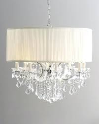 stylish and peaceful crystal chandelier with drum shade edrex co alluring on home decor interior design
