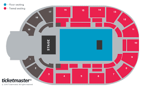 Chiefs Seating Chart With Rows Tickets The Who Nottingham At Ticketmaster