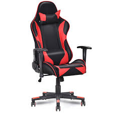giantex racing style high back recliner gaming chair modern mesh swivel computer office chair ergonomic office
