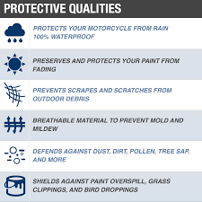 Budge Extreme Duty Motorcycle Cover Waterproof Protection