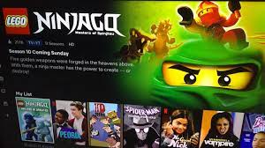 Since when is there 5 golden weapons in Ninjago I thought there was 4?  Netflix did something???????????: BricksByMind
