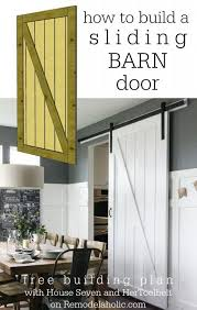 interior sliding barn door. DIY Crafts Sliding Barn Door Building Plan On Remodelaholic Inside Plans Prepare 13 Interior